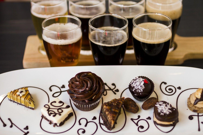 Пиво и десерты