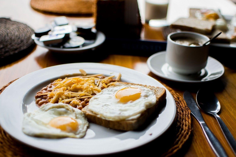 Расчет еды на завтрак или бранч